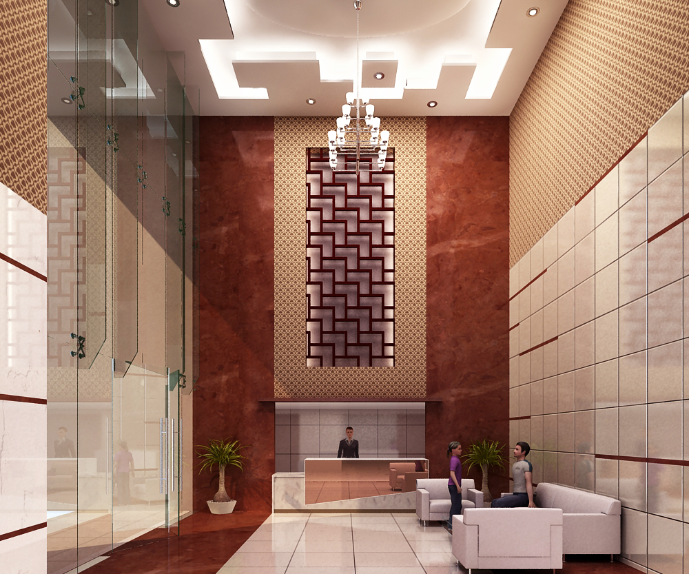 Resi. tower Lobby